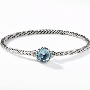 DAVID YURMAN Châtelaine Bracelet with Blue Topaz